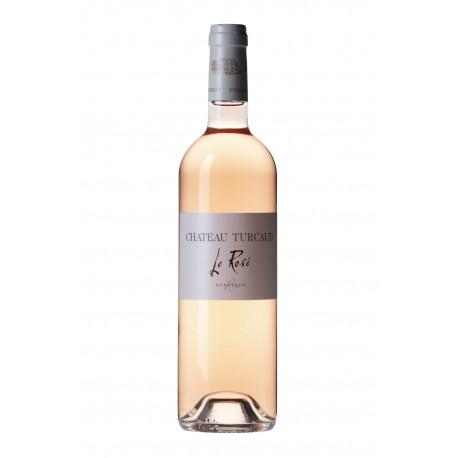 Château Turcaud Rosé Sec - Carton de 6 bouteilles